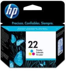 Cartucho HP 22