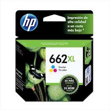 Cartucho HP 662 XL Color