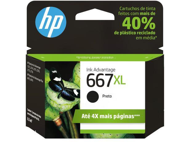 Cartucho HP 667 Preto