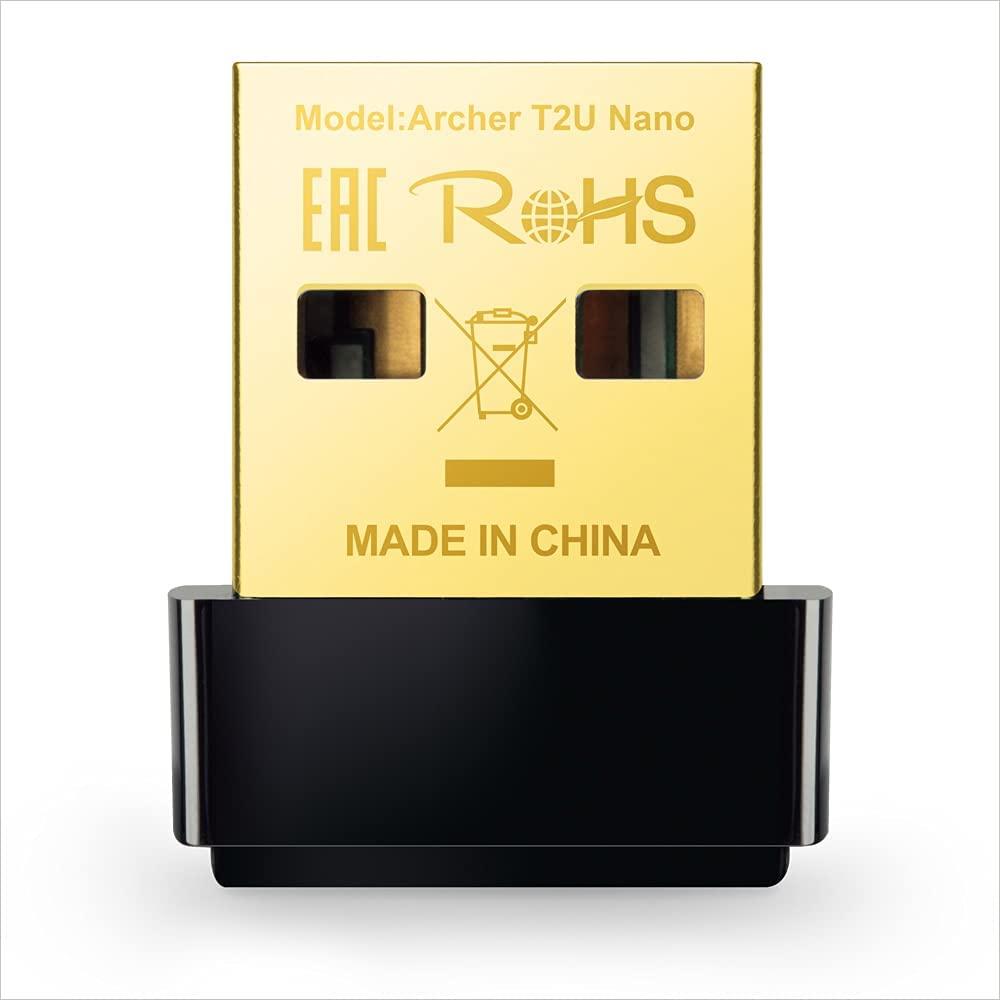 TP-LINK AC600 Archer T2U Adaptador USB Wireless Nano